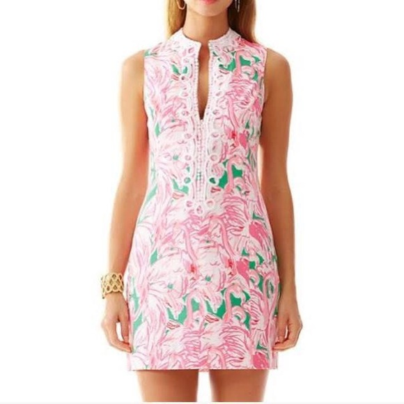 3949fc4f9a8db0 Lilly Pulitzer Pink Colony Alexa Shift Dress. M_5ba025fca31c333ce5d8fc2b